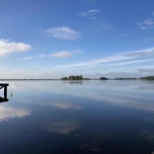 stilte over het meer
